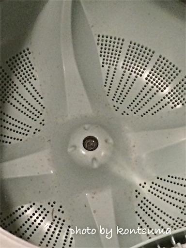 酸素系漂白剤で洗濯槽の掃除