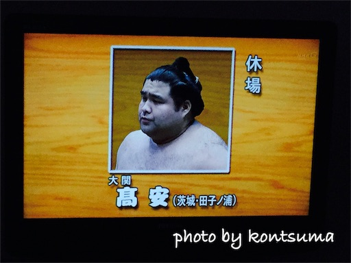 大相撲 髙安 休場