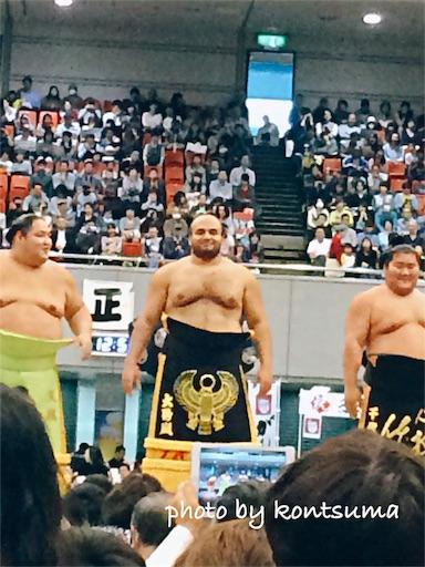 大相撲秋巡業 なにわ場所