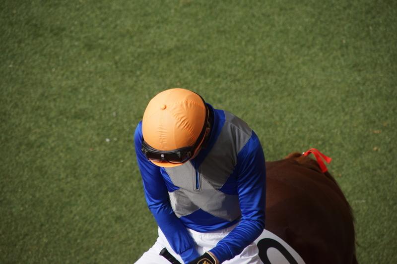 阪神競馬場のうどん屋で詰められるの画像