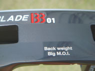 Back weight Big M.O.I.&I33