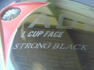 L CUP FACE STRONG BLACK