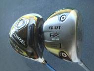 CRAZY CRZ435 ドライバー & テーラーメイド GLOIRE F ドライバー