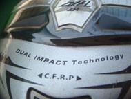 DUAL IMPACT Technology ◀ C.F.R.P ▶