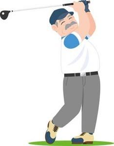 ベテランゴルファー