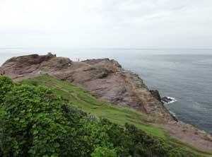 日本海は凪
