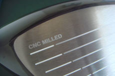 CNC MILLED