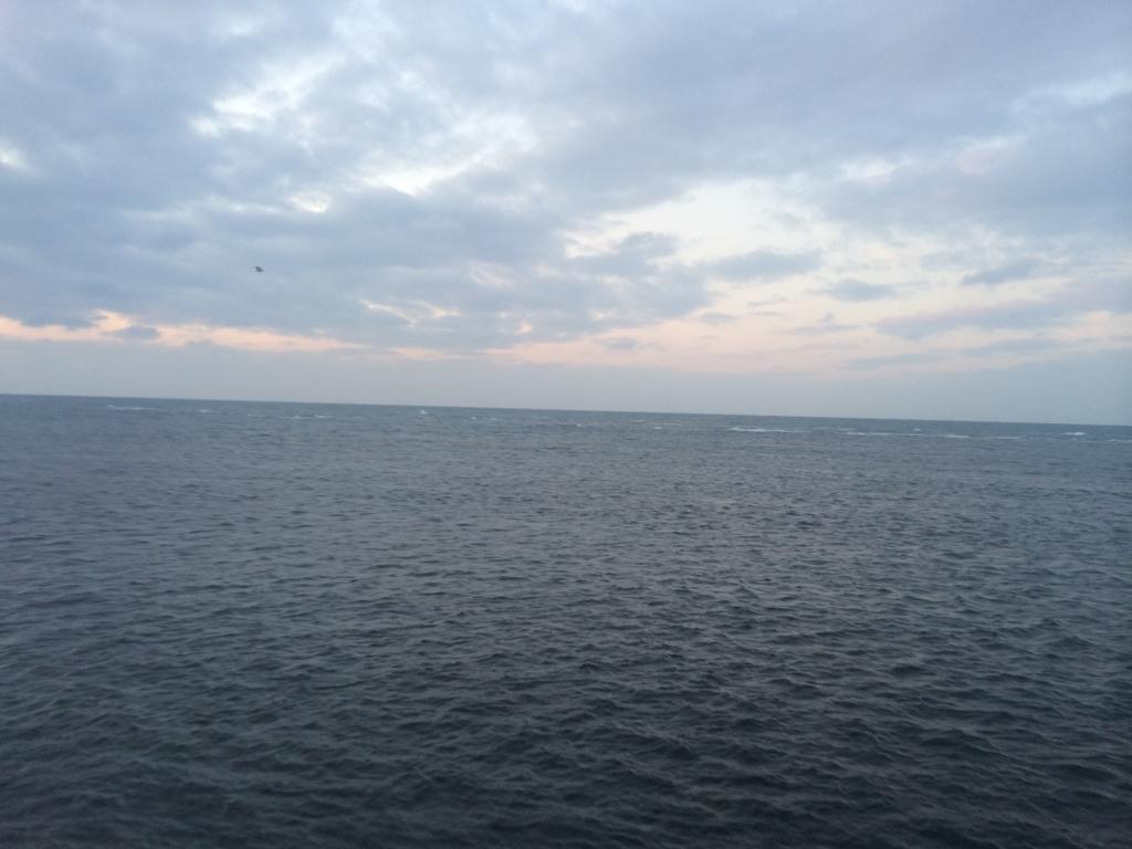 日本海と太平洋の合流地点