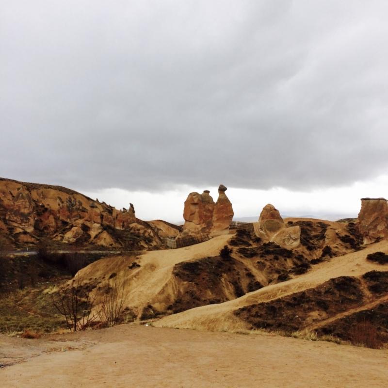 ラクダ岩があるのはデブレント渓谷