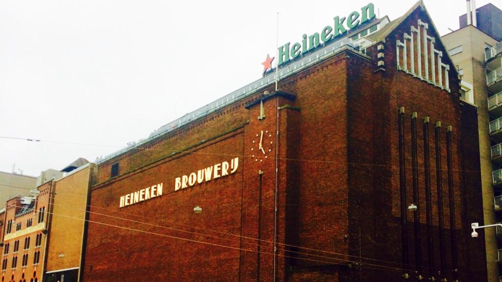 アムステルダム一番の観光名所「ハイネケンエクスペリエンス」