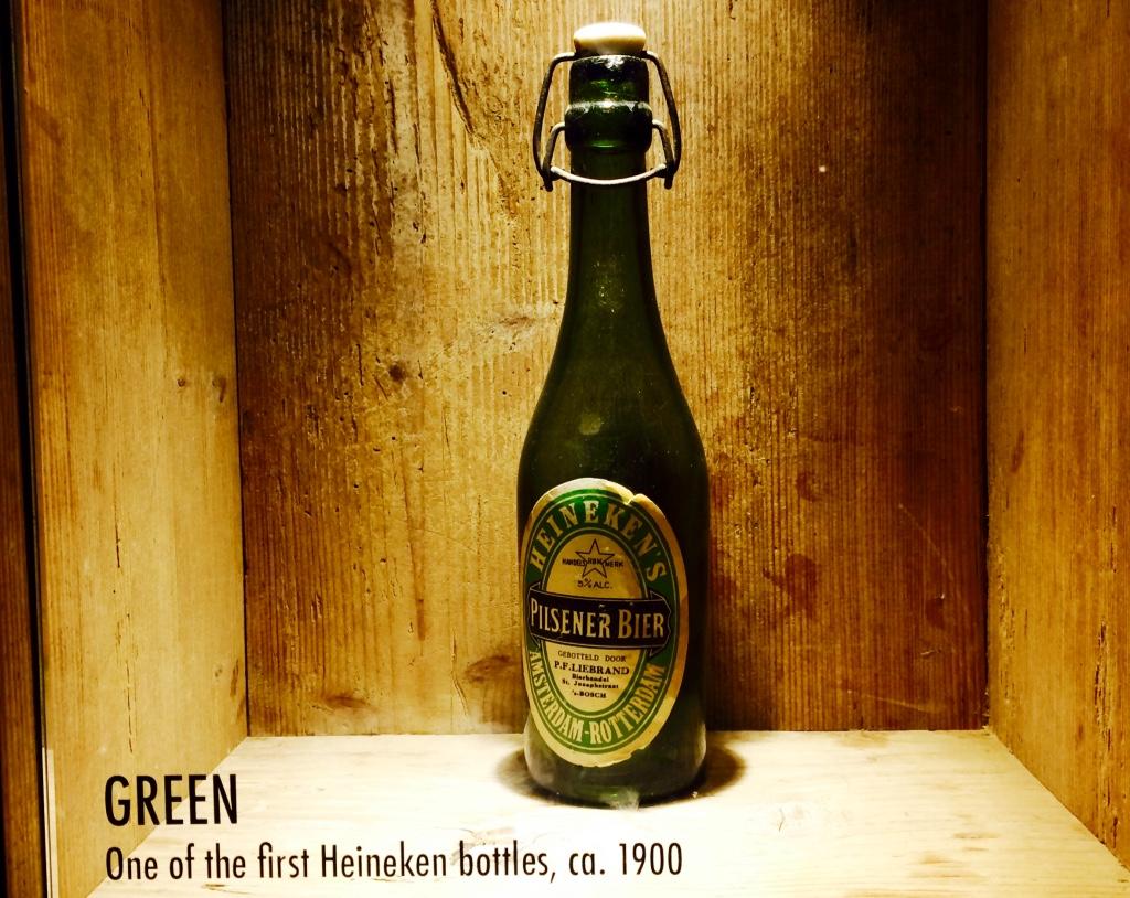 ハイネケンの昔のボトル