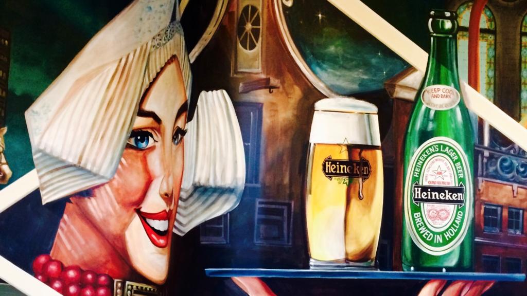 ビールと言えば?アムステルダム産ハイネケン!