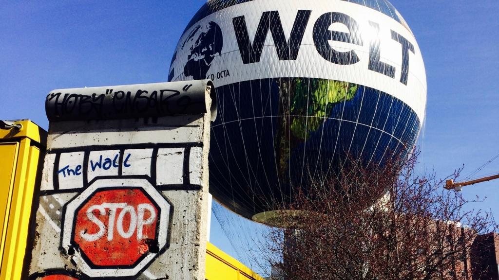 ベルリンを見渡せる気球ツアー