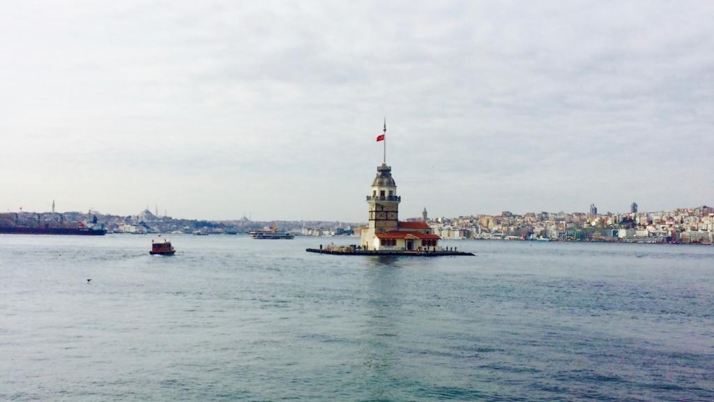 イスタンブールアジア側「乙女の塔」