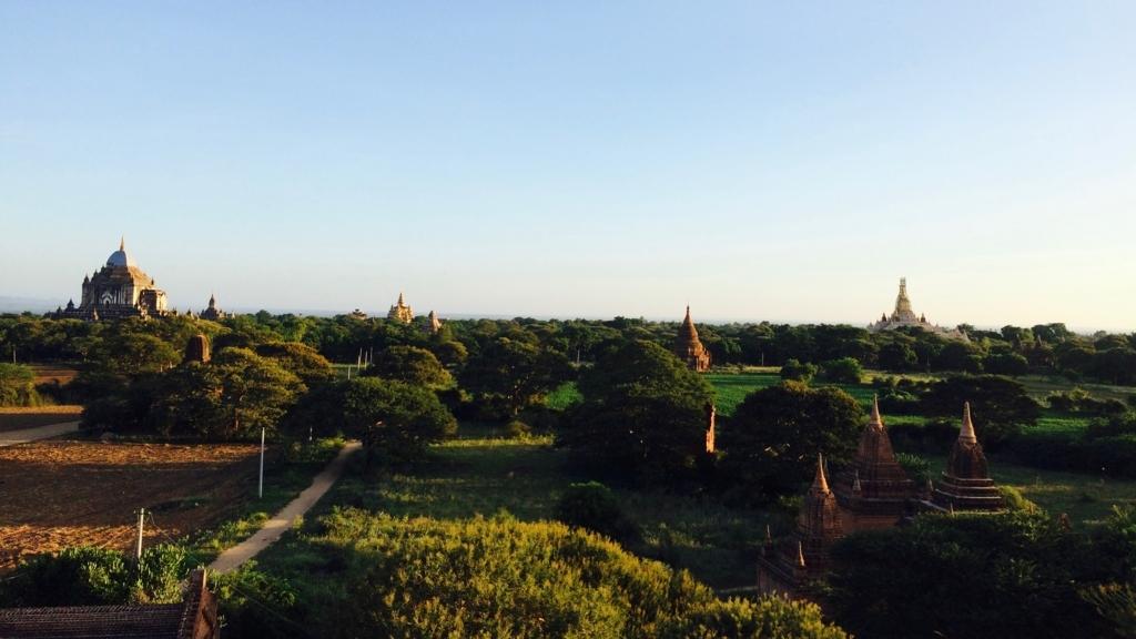ミャンマーの観光地といえばバガン