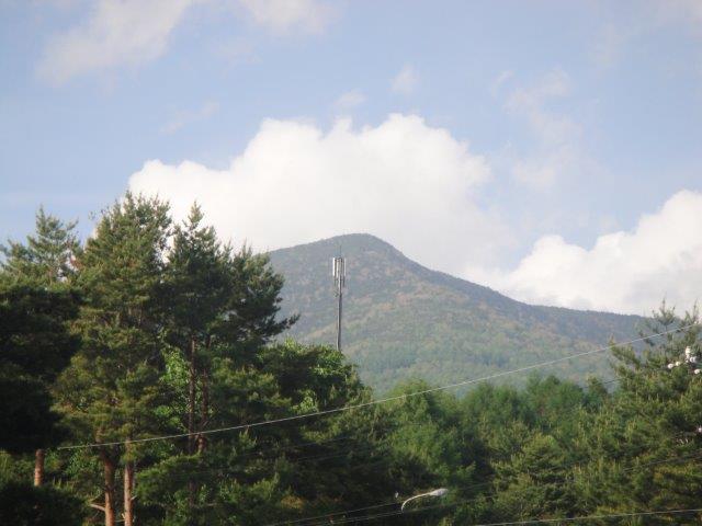 富士見高原GC登山口