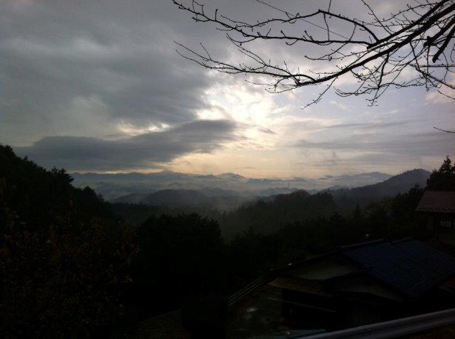 日和田山 曇り