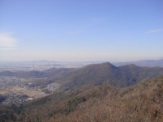 妙義山 大小山 北西方面