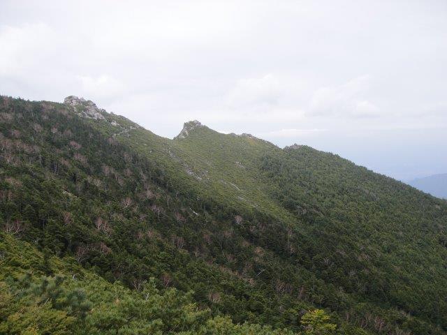 金峰山稜線