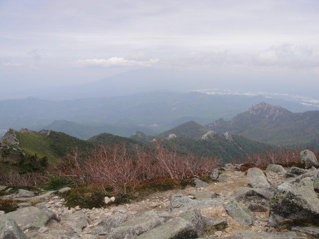 金峰山山頂から