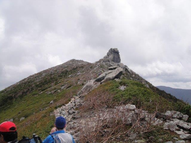 千代の吹上から五丈岩