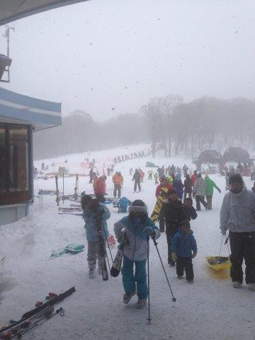 スキー場付近