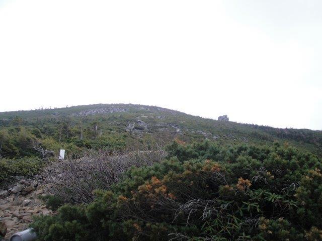 金峰山小屋から五丈岩