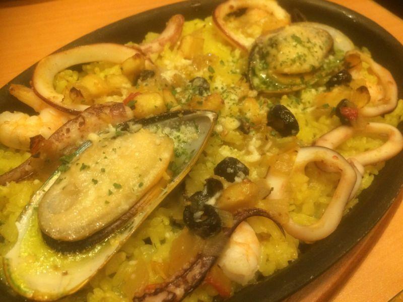 地中海ピラフのオーブン焼き