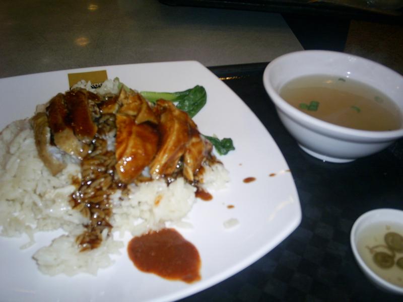 シンガポールでおすすめの料理 海南チキンライス