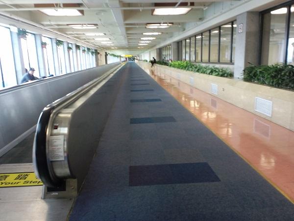 台北桃園国際空港のコンコース