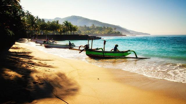 インドネシア、バリ島の海岸
