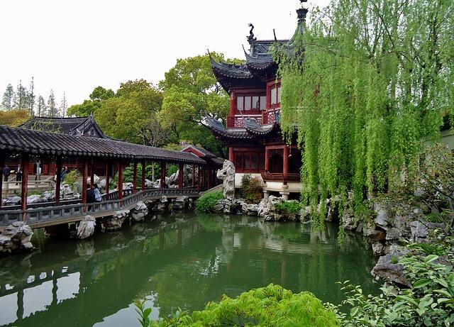 上海の観光地豫園