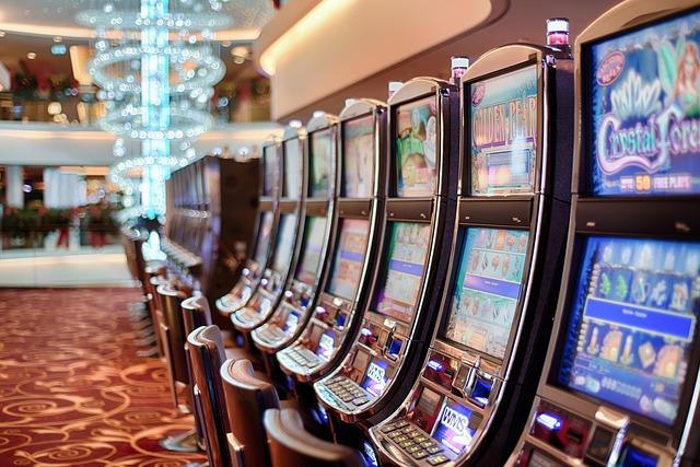 カジノのスロットマシーン