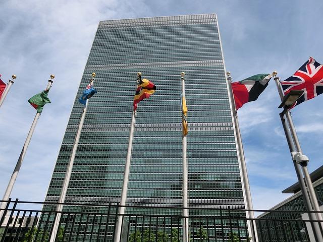 国連本部の旗
