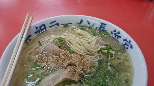 f:元祖長浜屋の麺