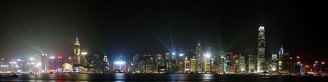 香港 光のショー