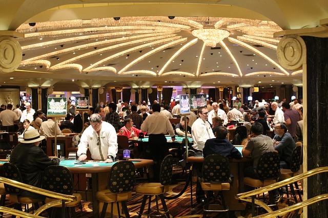 カジノ室内の様子