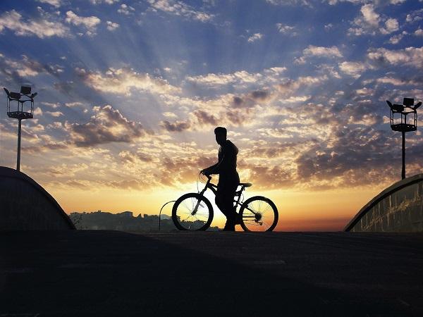 自転車で旅