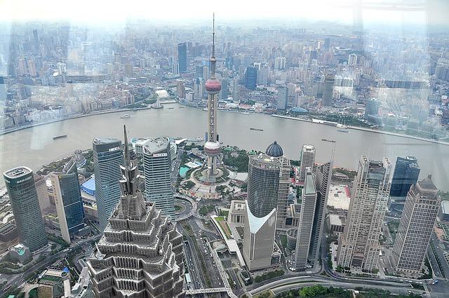 上海のタワー 東方明珠電視塔