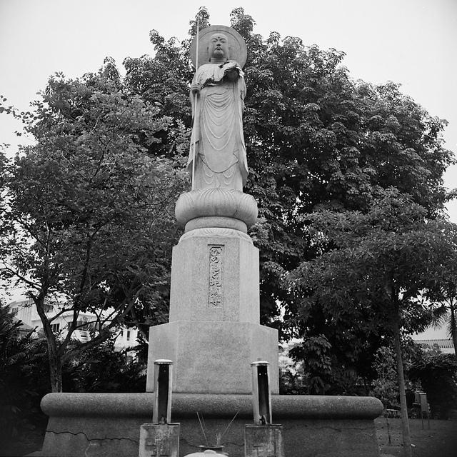 シンガポール日本人墓地公園の石碑