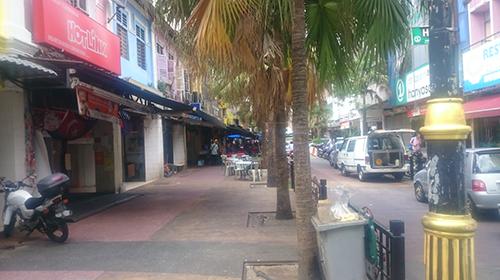 ジョホールバルの街の風景、レストラン