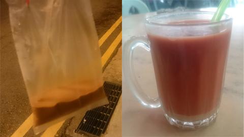 シンガポールとマレーシアのミルクティー