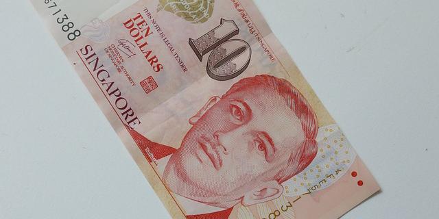 シンガポールの10ドル紙幣