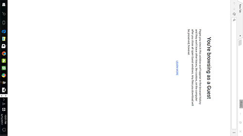パソコンの画面が横向きになったWindows 10英語版