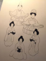[日本画]骨描き