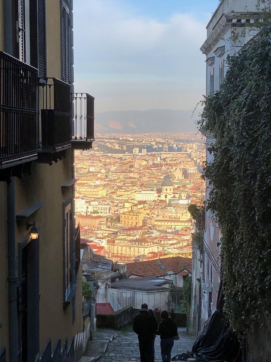 素敵なナポリの街の写真