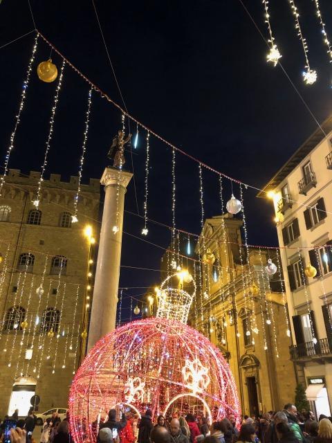 クリスマスのフィレンツェ