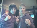 新田さんと2ショット