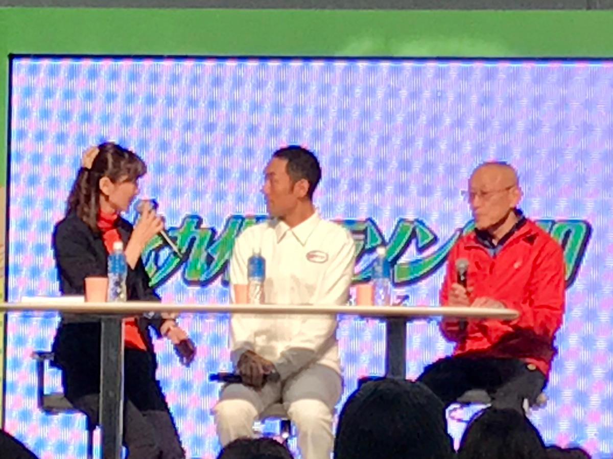 中村勘九郎さんと君原健二さんのトークショー