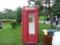 中国・大連 おしゃれな電話ボックス